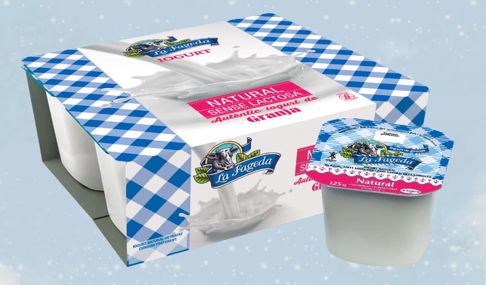 Iogurt sense lactosa La Fageda